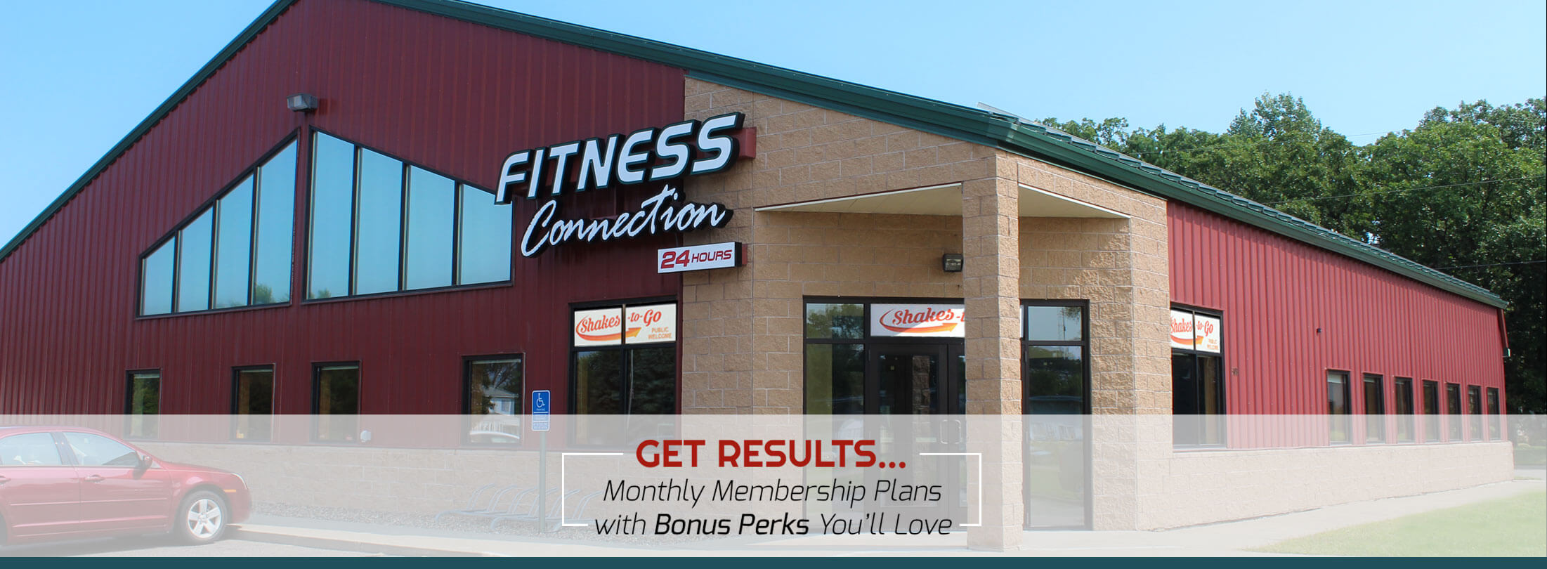 Exterior of Fitness Connection 24 Hours in Little Falls, MN